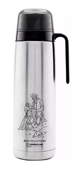 Garrafa Térmica Termolar R-evolution Inox Gaucho 1,0 Litro