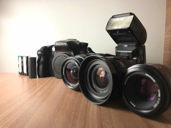 Câmera Profissional Sony A77 Dsrl