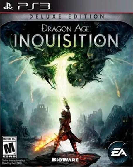 Ps3 Dragon Age Inquisition Deluxe Edition Play3 Portugues Br