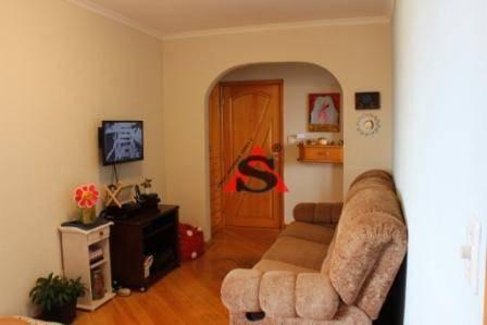 Apartamento À Venda, 60 M² Por R$ 345.000,00 - Vila Moraes - São Paulo/sp - Ap39528