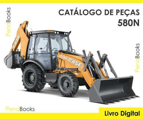 3 Catálogos Peças Retros Case 580n Randon Rk406 Jcb 3c