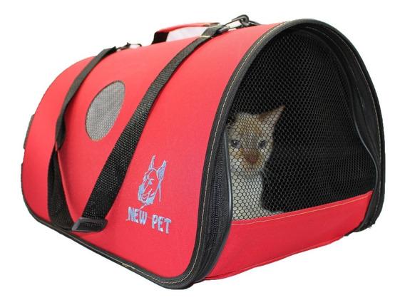 Bolsa De Transporte P/ Cães Gatos Furões Nylon Grande Rf01
