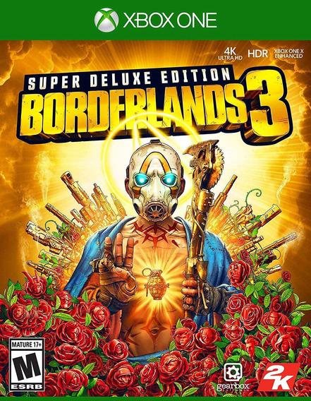 Borderlands 3 Edição Superdeluxexbox One Midia Digital