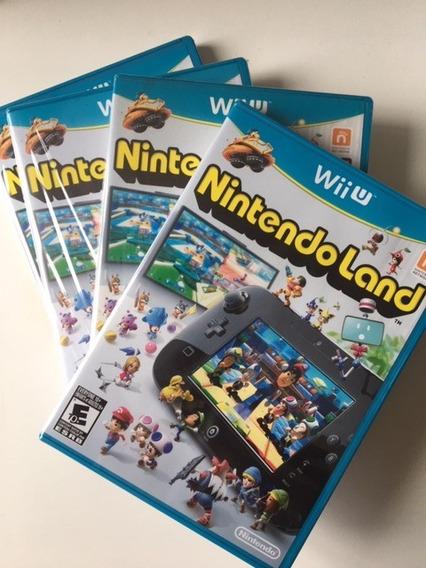 Nintendoland Wii U Mídia Física Original