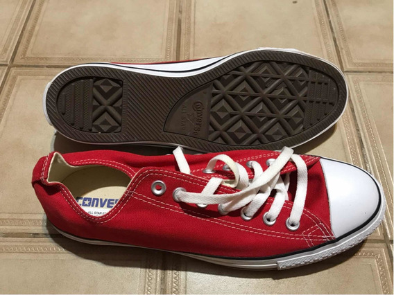 Zapatillas Converse All Star Color Rojo Num 42,5