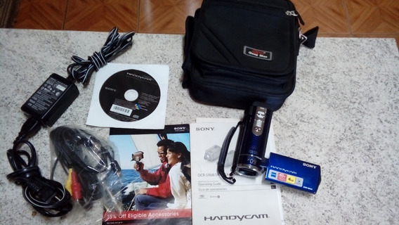 Vendo Câmera Filmadora Sony Handycam-60x-4gb