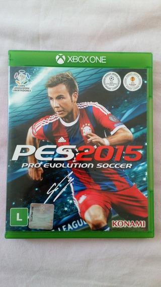 Pes 2015 Xbox One Usado Mídia Física