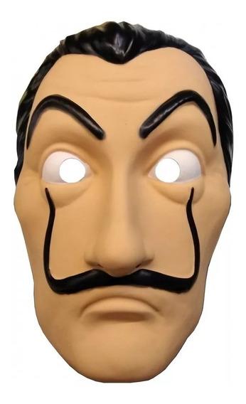 Mascara La Casa De Papel Plastico Halloween Chirimbolos