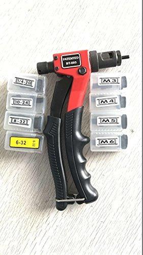 Astro Pneumatic Tool RN4M M4 4mm Steel Rivet Nuts Pack of 100