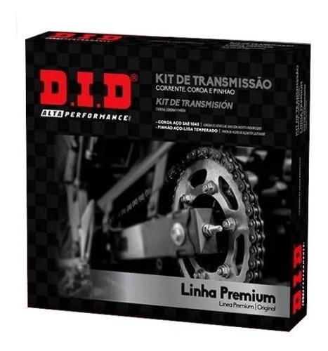 Kit Transmision Completo Did P/ Honda Biz 125 34-14 Full