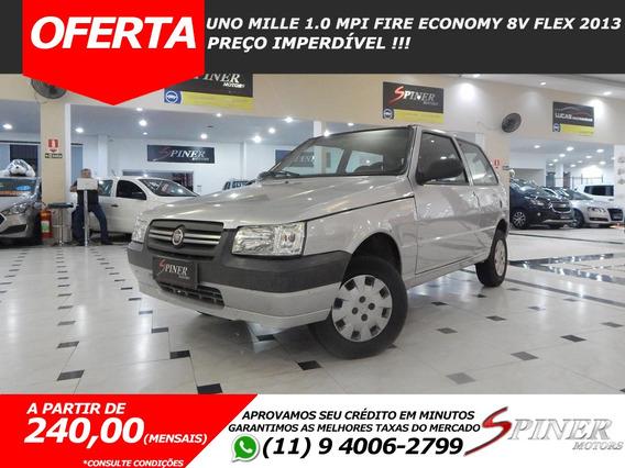 Fiat Uno Mille 1.0 Mpi Fire Economy 8v Flex Excelente Estado