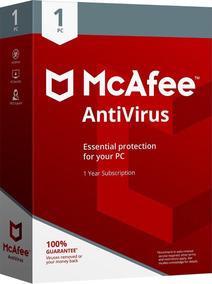 Mcafee Antivírus Plus 2019 1 Pc Original Ativa Online