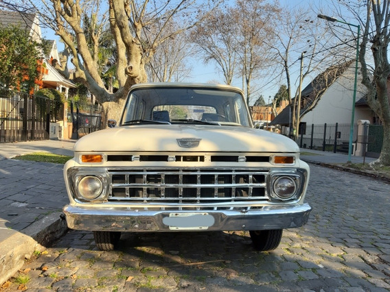 Ford F-100 Doble Cabina 1964 V8