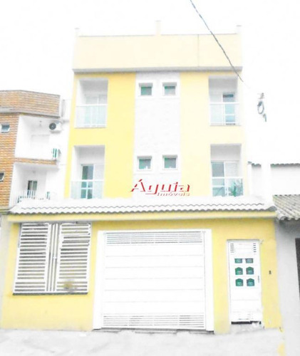 Cobertura Com 2 Dormitórios À Venda, 50 M² Por R$ 368.000 - Vila Metalúrgica - Santo André/sp - Co0701