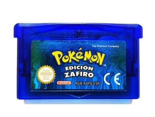 Pokemon Sapphire En Español + 386 Pokemon Shinys - Gba & Nds