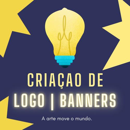 Imagem 1 de 1 de Criação De Logomarca E Banners, Material De Divulgaçao.