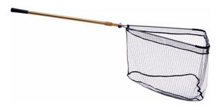 Red De Aluminio Para Pescar Plegable, Largo: 155 Cm
