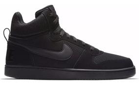 Tênis Nike Court Borough Mid Black/black Original