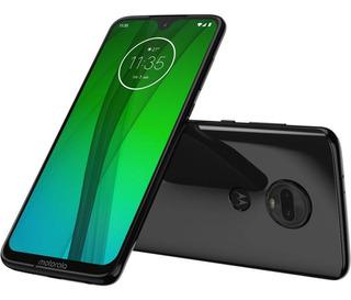 Smartphone Motorola G7 64gb Polar 4g-4gb Ram Tela 6,24 Câ