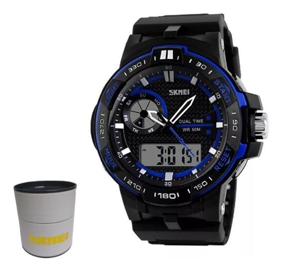 Relógio Masculino Skmei Anadigi 1070 - Nf/com Caixa Original