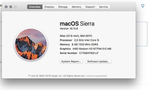 iMac 2011 Mid 21.5