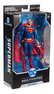 Muñeco Figura De Lujo Universo Dc Superman Batman Articulado