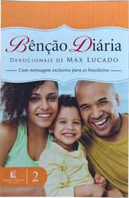 Livro Devocional Benção Diária - Vol. 2 - Max Lucado