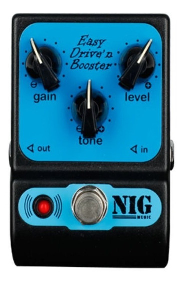 Pedal Nig Ped Easy Drive Overdrive/booster