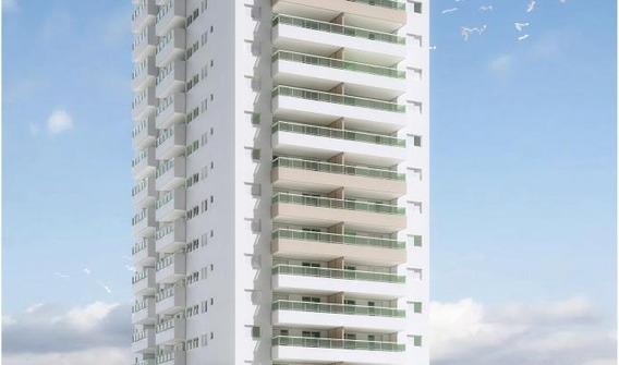 Apartamento Em Balneário Flórida, Praia Grande/sp De 76m² 2 Quartos À Venda Por R$ 396.396,00 - Ap168645