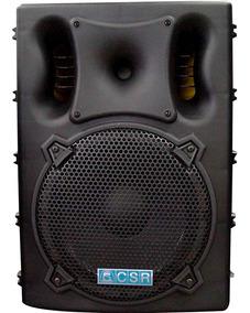 Caixa Som Ativa Csr 4000a Sd Usb Bluetooth 300w Falante 15