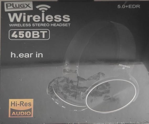 Fone Bluetooth 450bt Plugx
