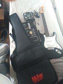 Kit: Pedaleira Zoom G2.1nu/ Guitarra Memphis Tagima Mg22
