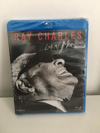 Blu Ray Show Jazz - Ray Charles Live At Montremx - Lacrado