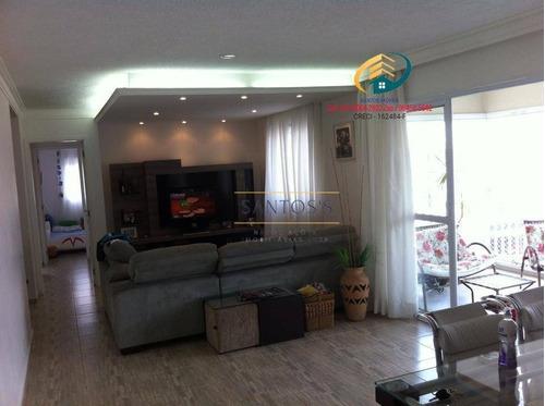Imagem 1 de 30 de Apartamento À Venda, 123 M² Por R$ 1.050.000,00 - Campo Belo - São Paulo/sp - Ap0406