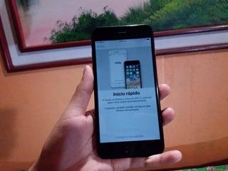 iPhone 6 Plus 64gb (bloqueado De Icloud) Black Matte