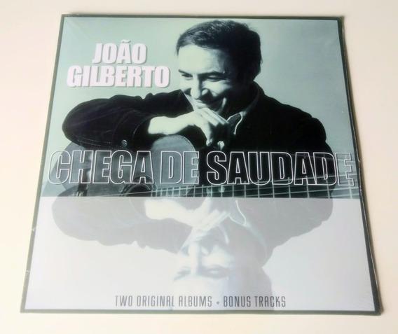 Lp João Gilberto Chega De Saudade 1961 Bônus Stan Getz Jobim