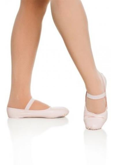 Sapatilha Glove Foot Lona/stretch Dança Ginástica Infantil