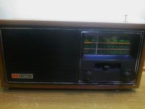 Radio Nissei Antigo Rc34 Funcionando Am/fm/cw