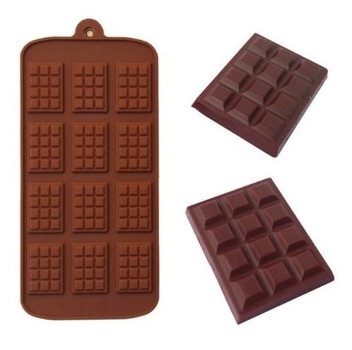 Molde Silicon Para Chocolates Mini Tablas, Jabones, Velas
