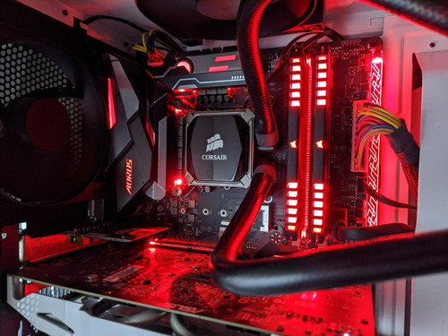 Pc Gamer - I5 8600k Gtx 1060 16gb Ram - Como Nueva