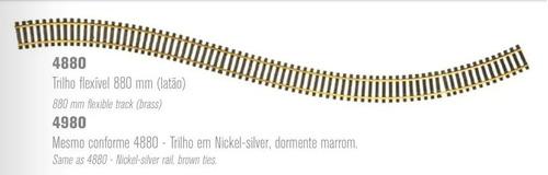 Via Flexible 880mm Nickel Sylver - Frateschi 4980