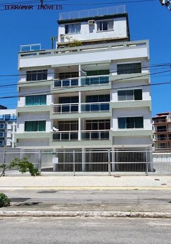 Cobertura Para Venda Em Cabo Frio, Algodoal, 3 Dormitórios, 3 Suítes, 4 Banheiros, 1 Vaga - Cob 037_2-1011460