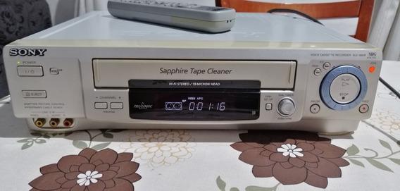 Video Cassete Sony Slv-99hfbr 7 Cabeças Stereo Com Controle