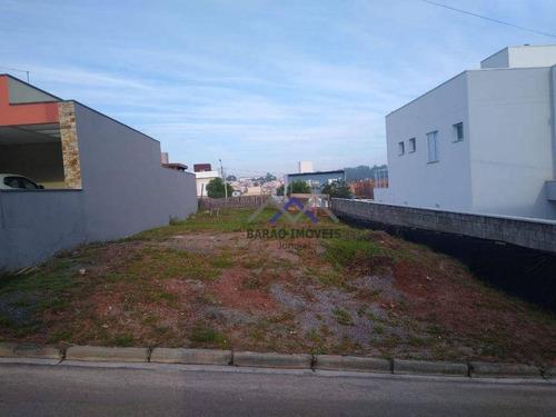 Terreno À Venda, 250 M² Por R$ 320.000,00 - Engordadouro - Jundiaí/sp - Te0389