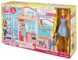 Barbie Nova Casa De Férias Com Boneca - Mattel Dvv48