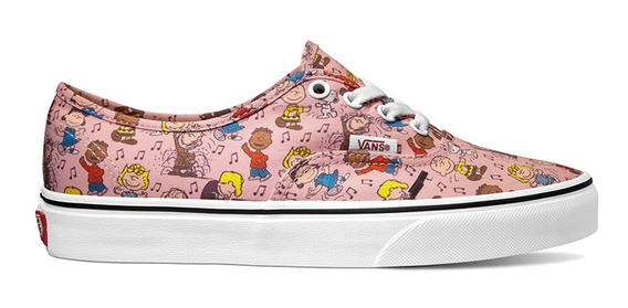 Tenis Vans Peanuts Dance Party/pink Snoopy