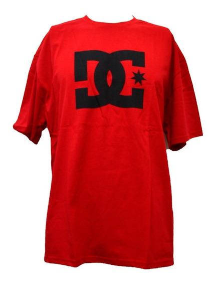 Playera Dc Hombre Rojo Dc Star Ss Mex Adyzt04554rqr0