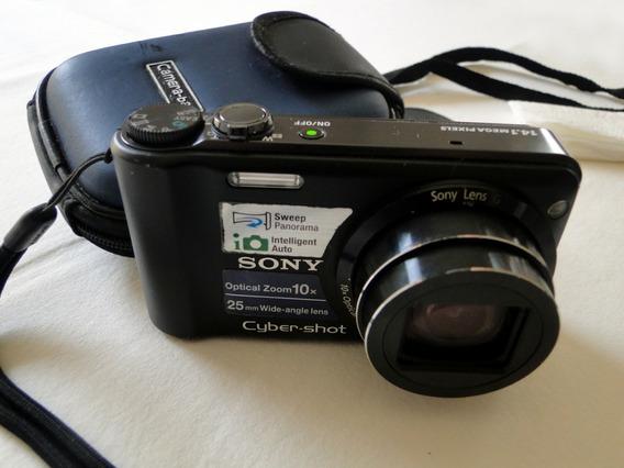 Câmera Digital Sony Cyber-shot Zoom 10x Dsc-h55
