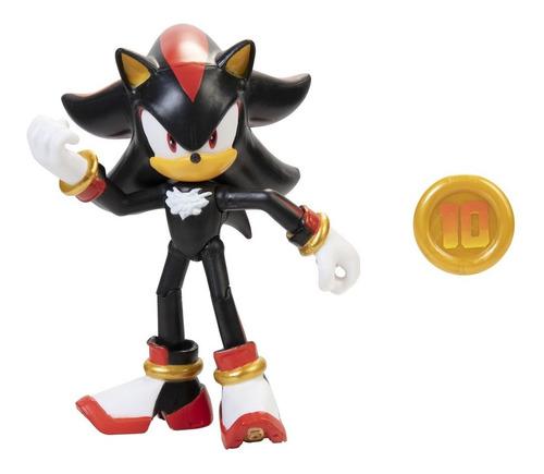 Imagem 1 de 4 de Boneco Jakks Pacific Sega Sonic The Hedgehog 4'' - Shadow
