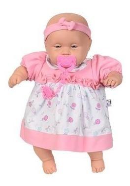 Boneca Bebê Bolofos Fala 120 Frases Cotiplás 2071